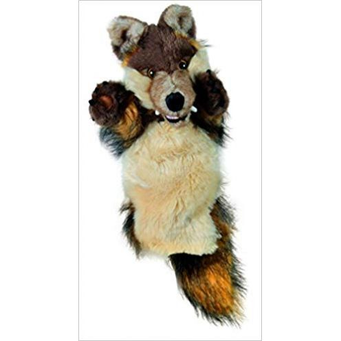 Long-Sleeved Glove Puppets: Wolf