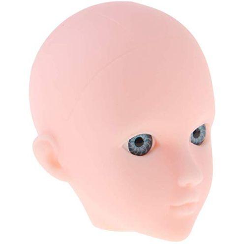 P Prettyia 1/6 Weiblicher Puppenkopf