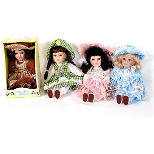Porzelan Puppen 4er Set