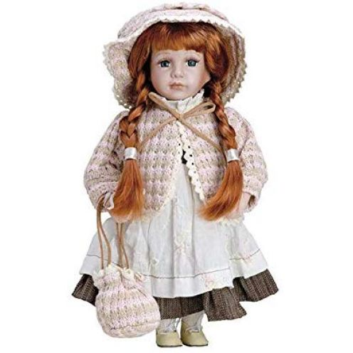 Puppe aus Porzellan Elizabeth – BAM004