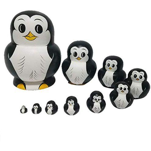 RAILONCH Pinguin Matroschka