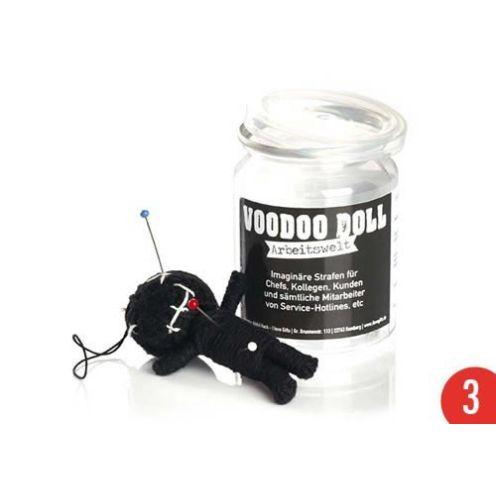 Scherzboutique 3er-Pack: Voodoo Doll in Dose
