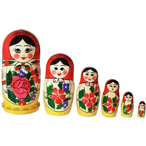 Semenowskaya Rospis Babuschka Set