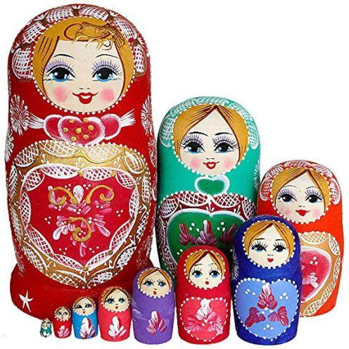 SWECOMZE Nesting Puppe Matroschka