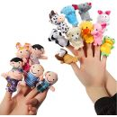 No Name ThinkMax 16 Pcs Fingerpuppen