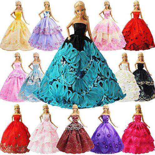 ZITA ELEMENT 5er Packung Handmade Bekleidung für 11,5 Zoll Girl Doll Puppe