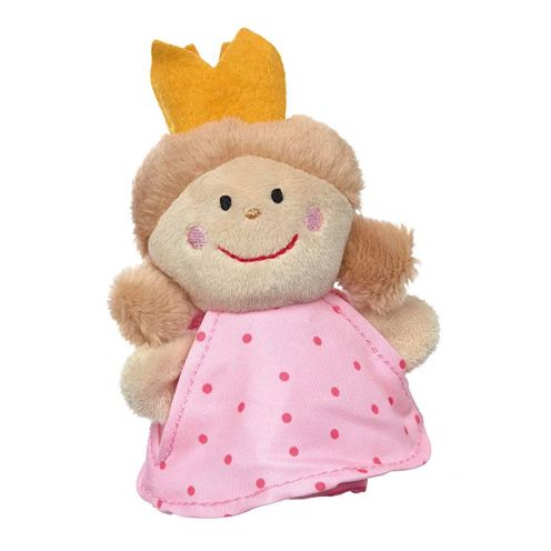 Sigikid Fingerpuppe Prinzessin, Theaterpuppe, Rosa/Pink, 40375