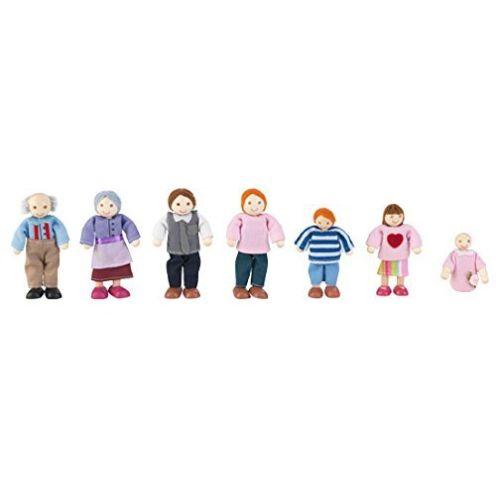 KidKraft 65202 Puppenfamilie 7-köpfig