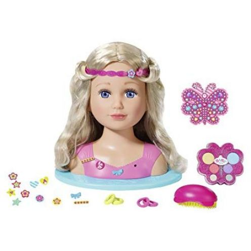 "Zapf Creation 824788"" Baby Born Sister Styling Head Puppe"