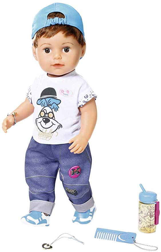 Zapf Creation BABY Born 826911 Soft Touch Brother 43 cm